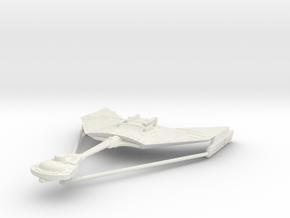 1/2500 Kteremny Destroyer D12 - 199 m (w/support) in White Natural Versatile Plastic
