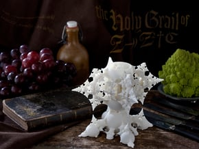 The Holy GRAIL of 3D FRACTALS in White Natural Versatile Plastic