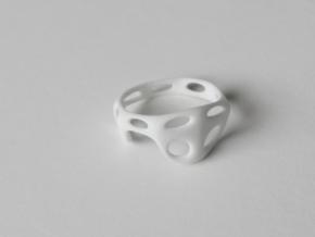 s3r012s6 GenusReticulum in White Processed Versatile Plastic