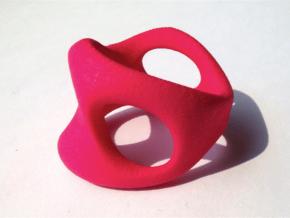 s3r032s8 GenusReticulum  in Red Processed Versatile Plastic