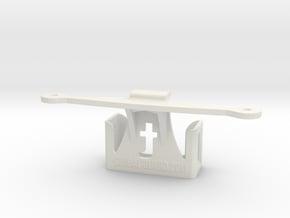 Trackimo holder for DJI Phantom 3 in White Natural Versatile Plastic