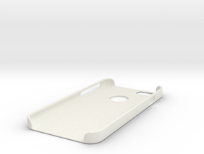 iphone 6 Case (With Apple Logo Visability) in White Natural Versatile Plastic