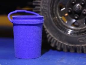 Shop Bucket 1:10 Scale in Blue Processed Versatile Plastic