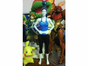 gym girl in White Natural Versatile Plastic