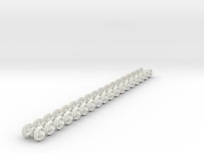 "On20 wheel 16"" 4 hole ridge in White Natural Versatile Plastic"