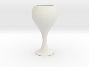 GLASS version1 in White Natural Versatile Plastic