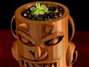 Akuma Small-planter in White Natural Versatile Plastic