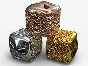 PA Charm V11f SE547h15x13 in 18k Gold