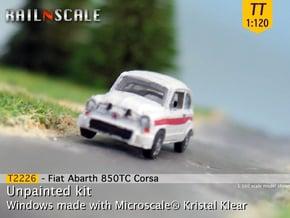 Fiat Abarth 850 TC Corsa (TT 1:120) in Smooth Fine Detail Plastic