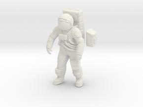 Apollo Astronaut a7lb Type / Standing Pos. 1: 24 / in White Natural Versatile Plastic: 1:24