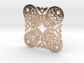 Calaveras Snowflake #2 in 14k Rose Gold