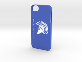 iPhone 5/5s Case Molon Lave2 in Blue Processed Versatile Plastic
