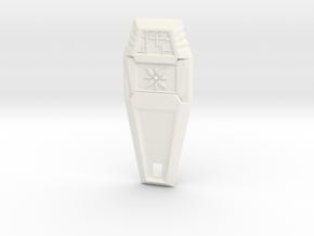 Crest of Light - Digimon in White Processed Versatile Plastic