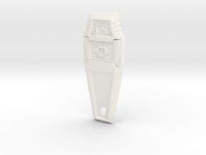 Crest of Friendship - Digimon in White Processed Versatile Plastic