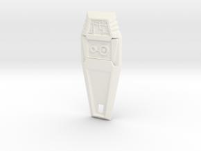 Crest of Knowledge - Digimon in White Processed Versatile Plastic