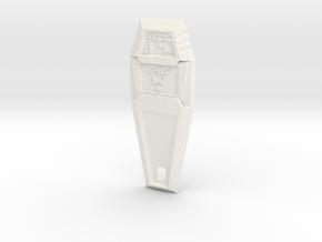 Crest of Miracles - Digimon in White Processed Versatile Plastic
