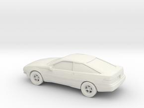 1/87 1988-92 Ford Probe in White Natural Versatile Plastic
