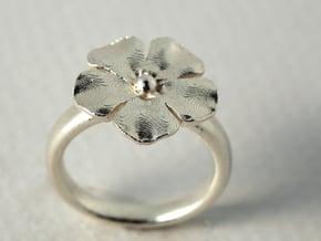 Ringflower US Size 5.3/4 in Polished Bronze Steel