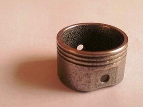 Piston Ring in Polished Nickel Steel