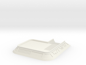 Factory Base Plate / Road Way in White Natural Versatile Plastic