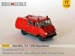 Opel Blitz TLF 1000 (TT 1:120) in Smooth Fine Detail Plastic