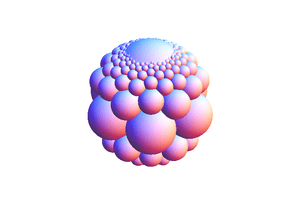 Bowl of Integers Generalization in White Natural Versatile Plastic