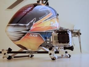 GoPro compatible 9mm Heavy Duty Camera Rig in Black Natural Versatile Plastic