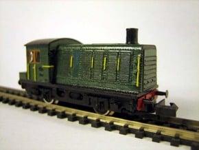 N NS Grote Sik 400 in N in Smooth Fine Detail Plastic