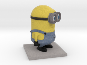 Minion Despicable Me (10cm height) in Full Color Sandstone