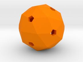 Hollow Blank D60 in Orange Processed Versatile Plastic