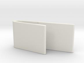 Mobius C-mount (10 degrees) in White Natural Versatile Plastic