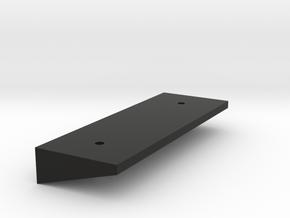 Ranger EX Landing Gear Tilt Plate in Black Natural Versatile Plastic