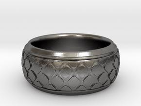 PATTI bangle  in Polished Nickel Steel