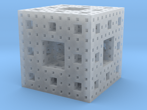 menger in Smooth Fine Detail Plastic