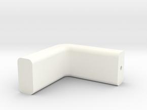 Earpiece3 in White Processed Versatile Plastic