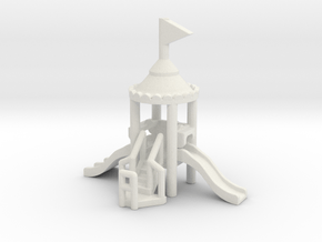 Spielplatz mini 1:160 (N scale) in White Natural Versatile Plastic