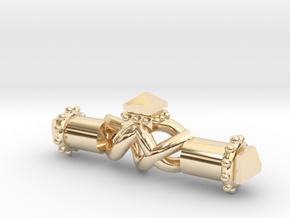 Artisanal Capsule Pendant in 14K Yellow Gold