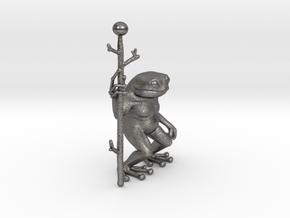 Little Frog Shaman in Polished Nickel Steel