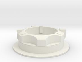 Apollo A7L-PLSS Connector in White Natural Versatile Plastic