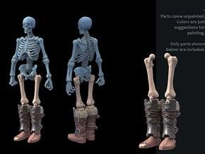 SL01-Legs-02  7inch in White Processed Versatile Plastic