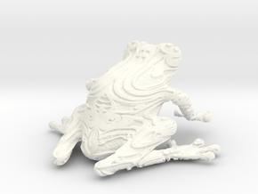 FrogPrint2 in White Processed Versatile Plastic