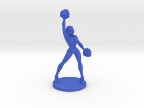 Cheerleader #1 for Slaughterball in Blue Processed Versatile Plastic