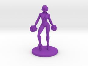 Cheerleader #2 for Slaughterball in Purple Processed Versatile Plastic