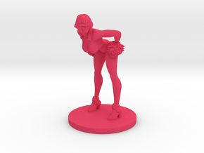 Cheerleader #3 for Slaughterball in Pink Processed Versatile Plastic