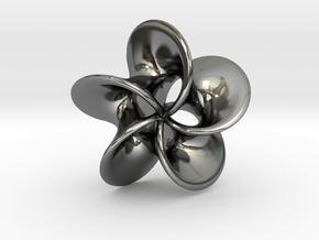 Scherk H Rose  in Fine Detail Polished Silver
