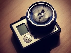 37mm Filter Adaptor for GoPro in Black Natural Versatile Plastic