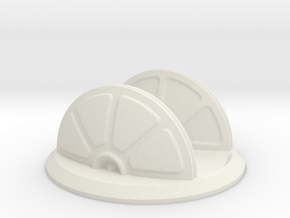 Shield Generator in White Natural Versatile Plastic