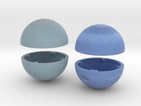 Replacement Part: Neptune and Uranus True-scale in Full Color Sandstone