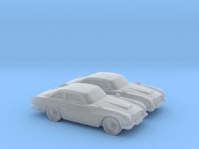 1/200 2X Aston Martin DB5 in Smooth Fine Detail Plastic