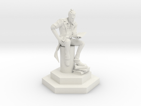 Handsome Jack the Wise Hero. in White Natural Versatile Plastic